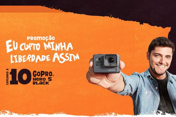 Ganhe câmeras GoPro