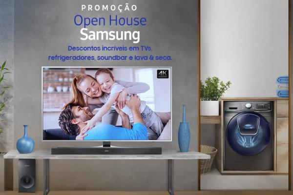 Promoção Open House Samsung