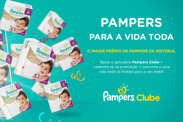 Pampers Clube sorteia