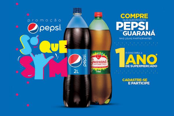 Promoção só que sim Pepsi