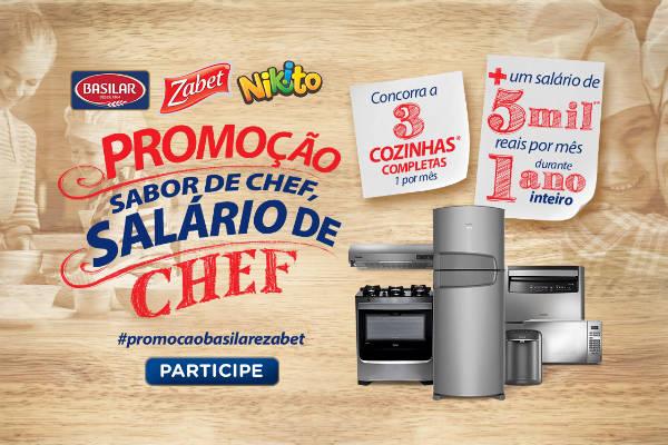 Promoção sabor de chef