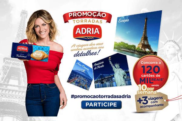 Promoção torradas Adria