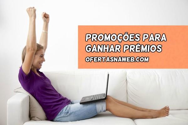promoções para conquistar prêmios