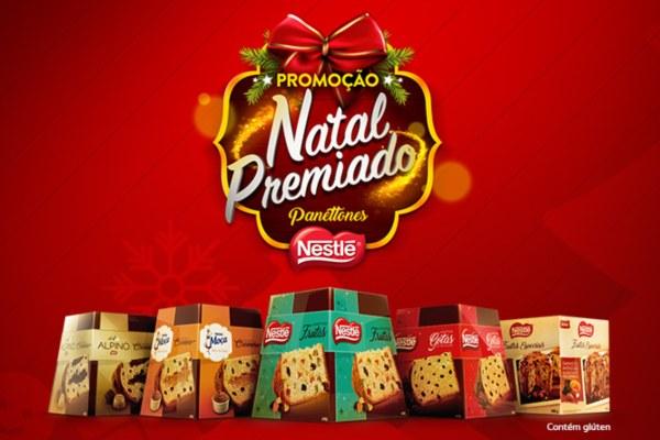 Presente de Natal Nestlé