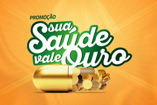promoção sua saúde vale ouro