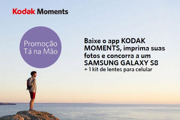 Promoção tá na mão Kodak