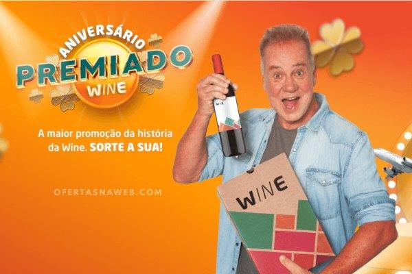 promoção aniversário wine