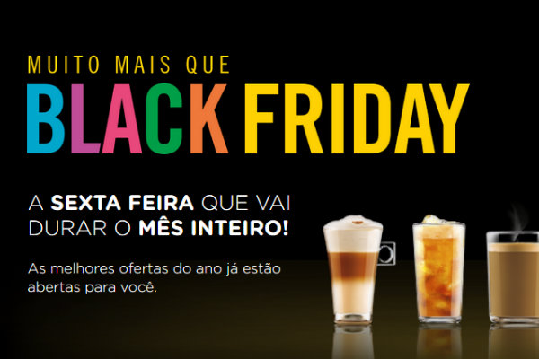 Black Friday Nescafé Dolce Gusto