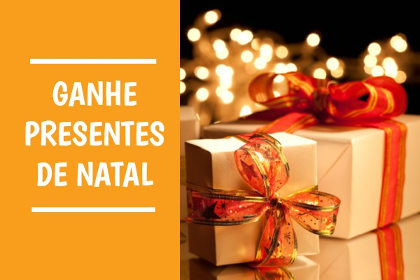 ganhar presentes de Natal