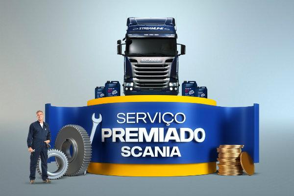 Promoção Scania serviço premiado