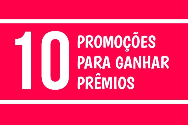 promoções para ganhar prêmios