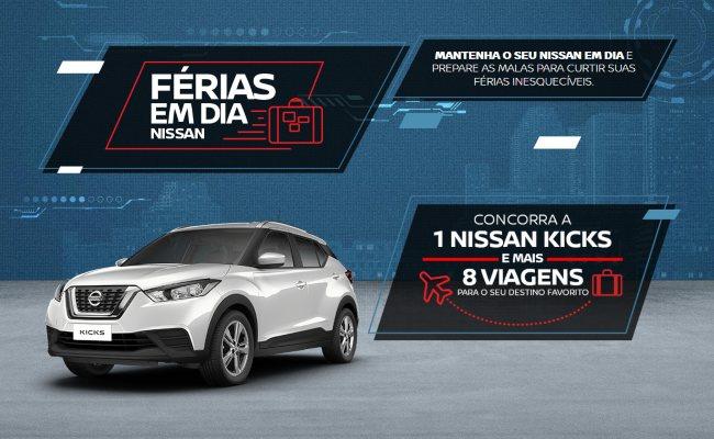 Férias em dia Nissan