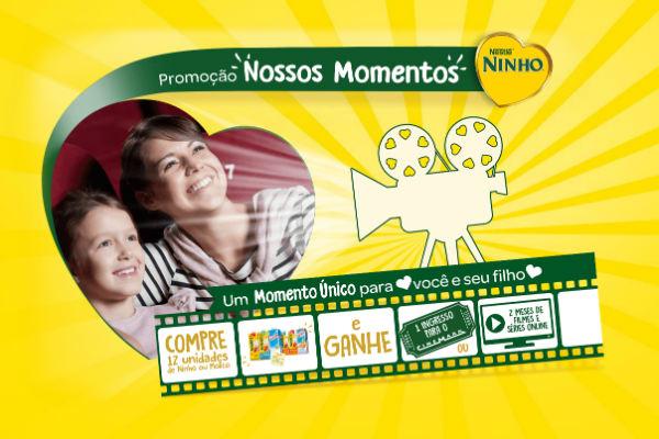 Promoção nossos momentos Ninho