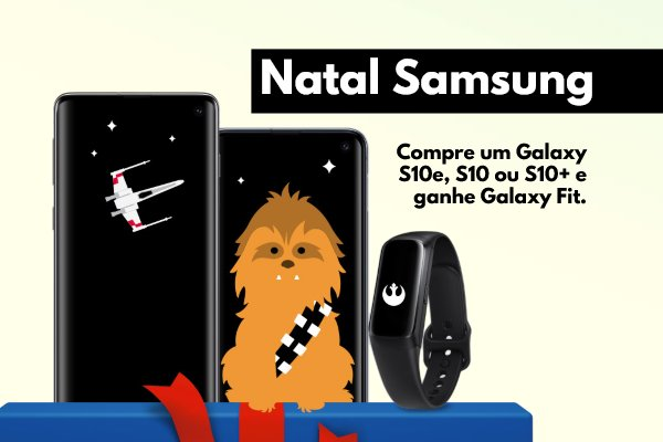 Promoção Samsung Galaxy