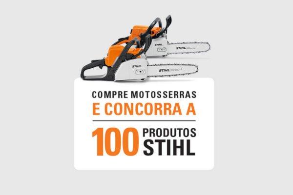 promoção stihl 100 produtos