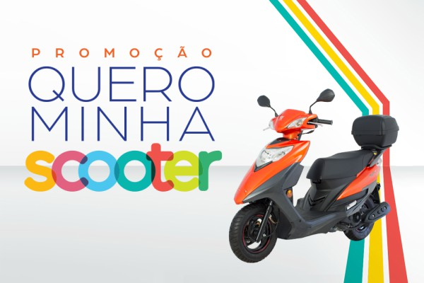 Promoção quero minha scooter