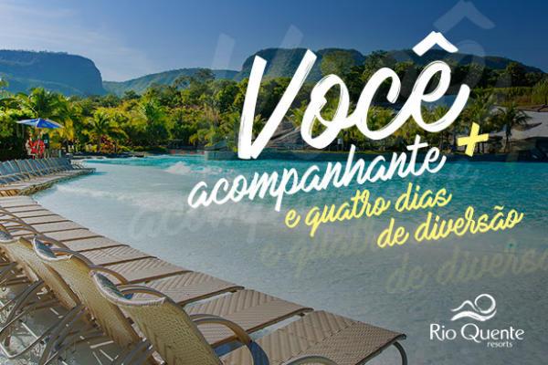 viagem para o Rio Quente Resort