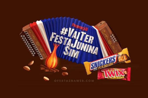Promoção Snickers 2018