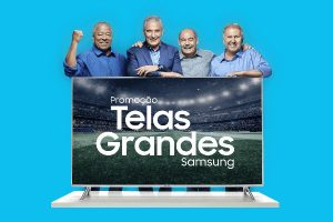 Kits TVs telas grandes Samsung