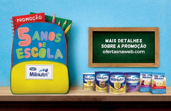 promoção escola grátis milnutri