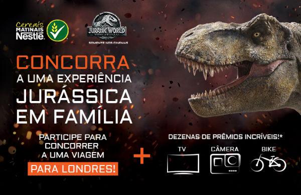 Promoção Jurassic World