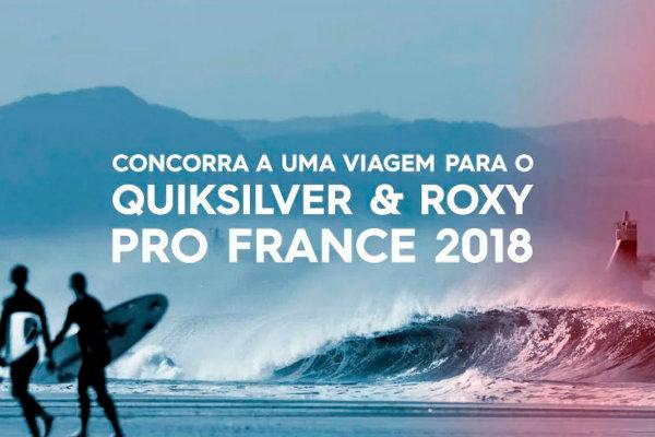 Promoção Quiksilver e Roxy
