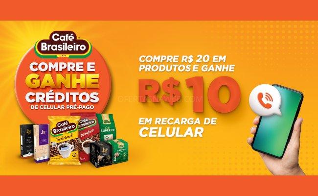 promoção café brasileiro