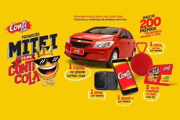 Promoção Conti Cola