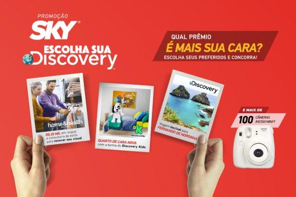 Liberdade de escolha Discovery Sky