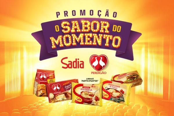Promoção sabor do momento