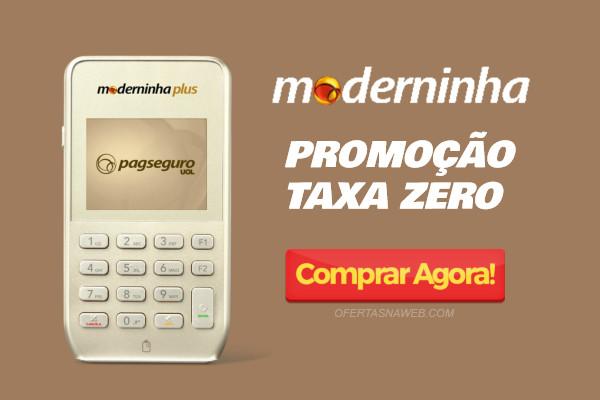 Promoção Moderninha Taxa Zero