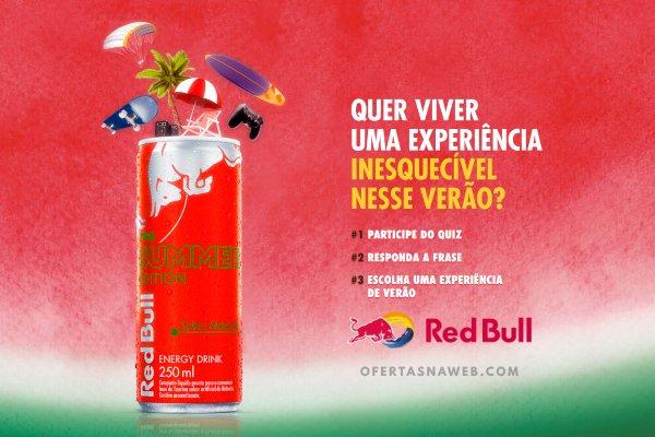 Promoção Red Bull