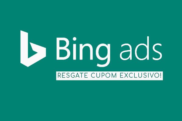 cupom bing ads