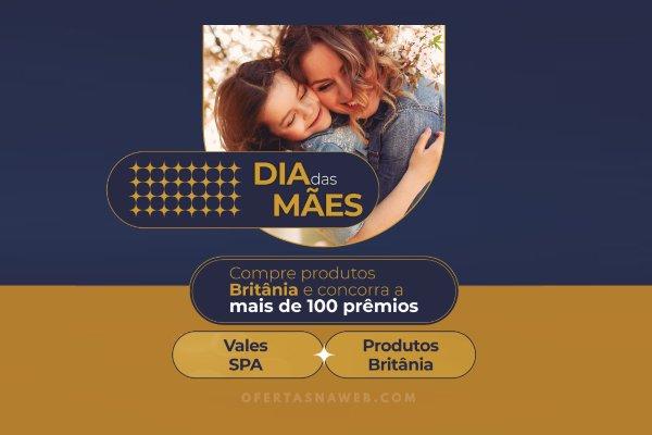promoção britânia dia das mães