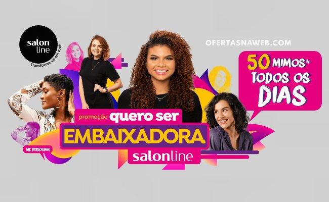 promoção salon line