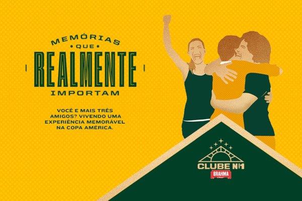 promoção clube brahma