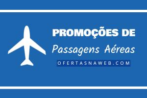 promoções passagens aéreas