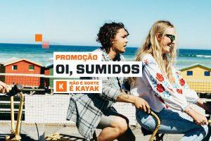 promoção kayak